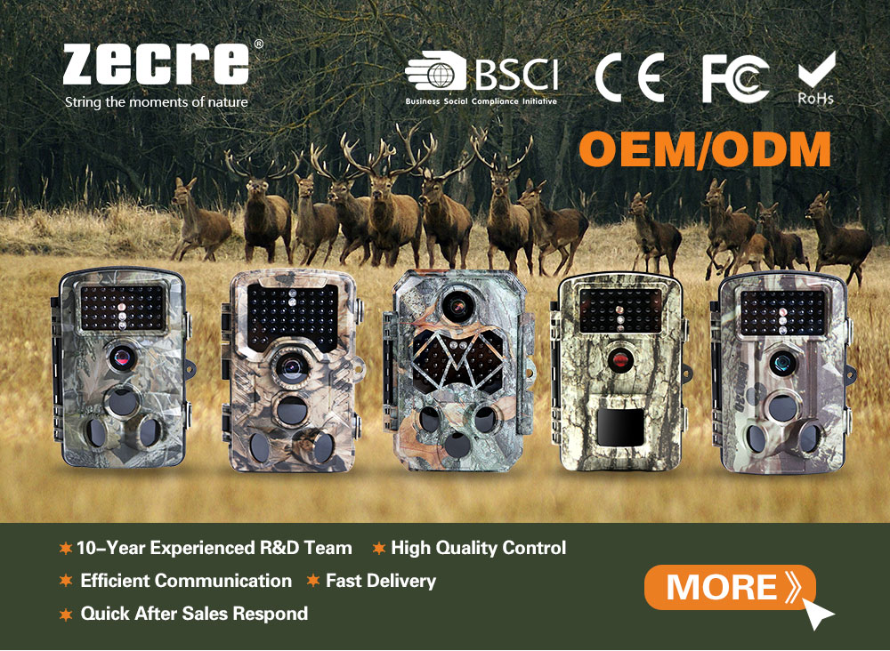 Zecre hunting cameras